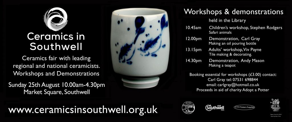 Ceramics in Southwell 2019